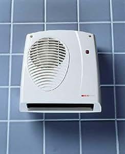2 0kw Downflow Fan Heater Amazon Co Uk Kitchen Amp Home