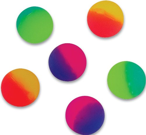 38mm Icy Ball Bouncy Balls 1 Dozen - 1