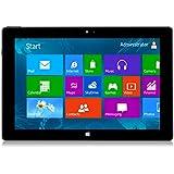 10.1 Zoll Windows 8.1 Tablet PC --10.1 Zoll Touchscreen - Intel Baytrail-T(Quad-core) Z3735G 1.33GHz, 1280*800 IPS Screen 16GB Tablet Schwarz