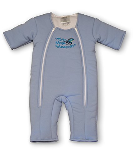 Baby Merlin's Magic Sleepsuit Cotton - Blue - 3-6 months