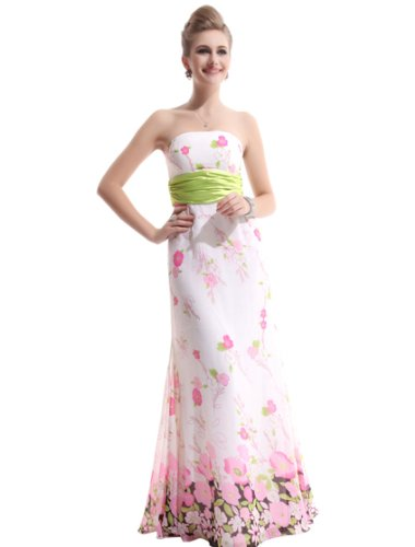 Ever Pretty Floral Easter Maxi Party Dress Women 09630, He09630Gr10, Green, 8Us