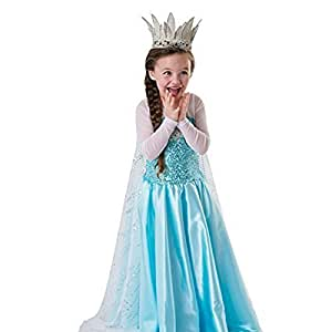loel&reg Loel Inspired Snow Queen Girl Costume Dress