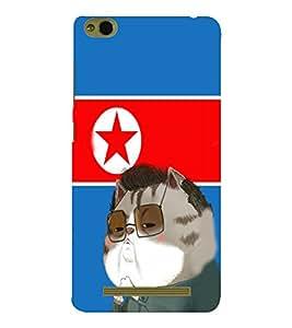 EPICCASE Kim jong cat Mobile Back Case Cover For Xiaomi 3S Prime (Designer Case)