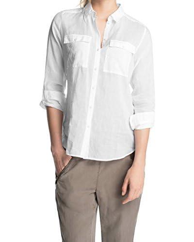 Esprit Camisa Mujer Blanco ES 38 (DE 36)