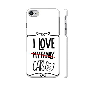 Colorpur I Love My Cats Artwork On Apple iPhone 7 Cover (Designer Mobile Back Case) | Artist: Torben