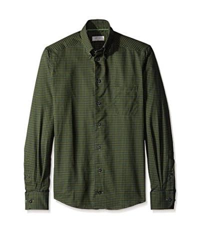 Eton Men's Slim Fit Gingham Sportshirt
