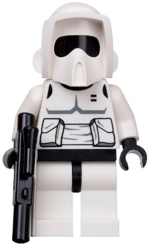 LEGO Star Wars LOOSE Mini Figure Scout Trooper with Blaster Pistol - 1