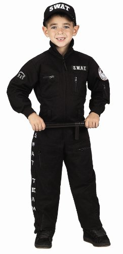 [Aeromax Jr. SWAT Suit (Child 4-6)] (Swat Costumes Kid)