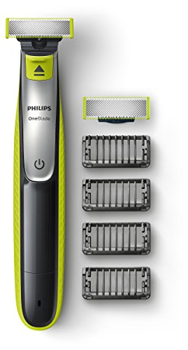 Philips Oneblade QP2530/30, Trim Style Shaving/4 Replacement Blade Stripping Cookie Attachments
