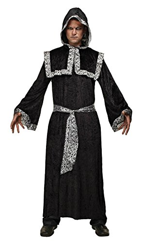 Mario Chiodo Mens Scary Nightmare Prophet Of Darkness Theme Party Costume