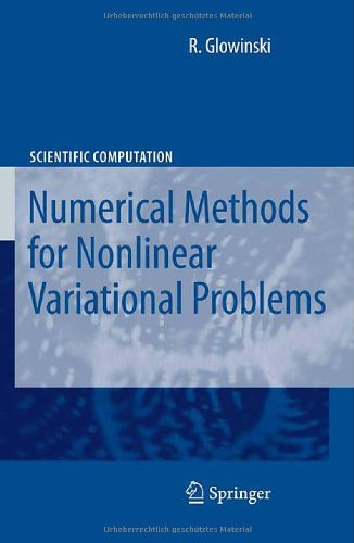 Lectures on Numerical Methods for Non-Linear Variational Problems