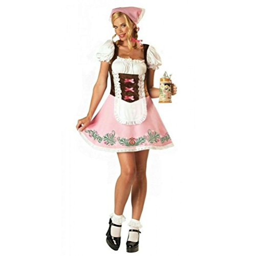Coslove InCharacter Womens Fetching Fraulein Adult Oktoberfest Sexy Costume Size Medium
