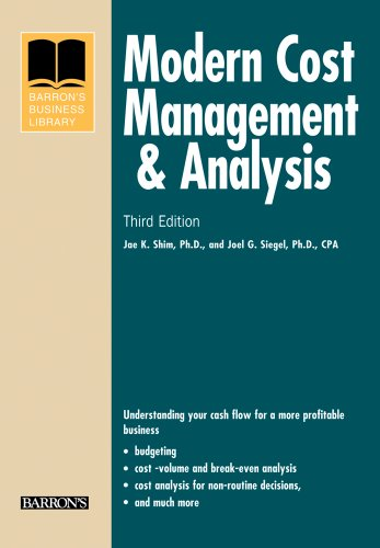 Modern Cost Management and Analysis (Barron's Business Library)