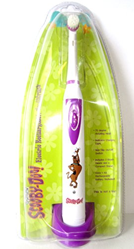 Scooby-Doo Electric Rechargeable Toothbrush