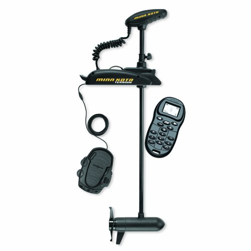 "Minn Kota Terrova 101 Bow-Mount Trolling Motor With Universal Sonar 2 And I-Pilot, Includes Foot Pedal (101-Lb Thrust, 60"" Shaft)"