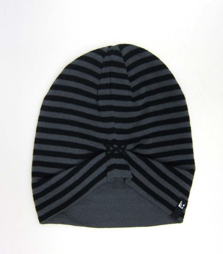 Skullcandy Huffy Beanie - Black/Grey Stripes