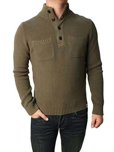 lucky-brand-mens-military-mock-sweater-small