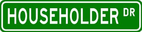 HOUSEHOLDER Street Name Sign ~ Personalized Family Lastname Sign ~ Gameroom, Basement, Garage Sign ** - Buy HOUSEHOLDER Street Name Sign ~ Personalized Family Lastname Sign ~ Gameroom, Basement, Garage Sign ** - Purchase HOUSEHOLDER Street Name Sign ~ Personalized Family Lastname Sign ~ Gameroom, Basement, Garage Sign ** (The Lizton Sign Shop, Home & Garden,Categories,Patio Lawn & Garden,Outdoor Decor)