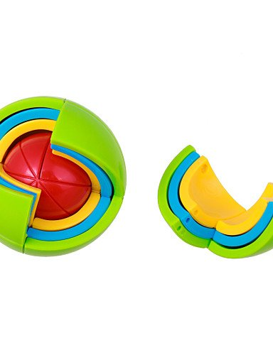 JIATING Puzzle Ball 3D Spherical Jigsaw Assembled Blocks Intelligence Kindergartens Early Childhood Educational Toys