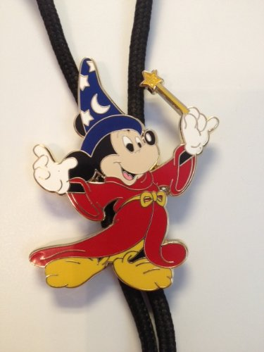 *Mickey Mouse Wizard Bolo Style Badge Holder Lanyard* Disney Parks Exclusive & Limited Availability