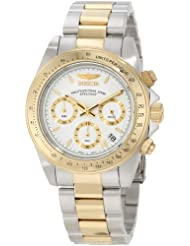 Invicta Speedway Collection Stainless Two Tone