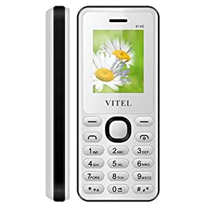 VITEL K140 Multimedia Feature Phone With Dual Sim, Camera, Internet and Expandable Memory