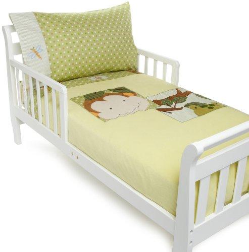 Lambs & Ivy Papagayo Toddler Set, Green