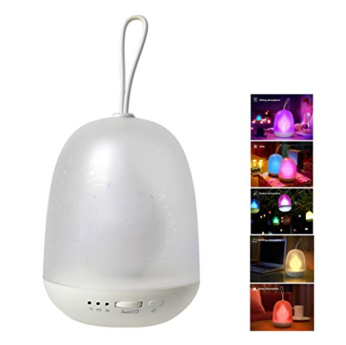 Anpress Portable Multicolor LED Night Lamp Colorful Baby Night light, Stepless Changing Color , Auto-off Timer, Hanging Rope, USB Rechargeable for Bedroom, Baby Room, Camping (Baby Timer compare prices)