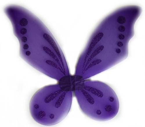 Purple Pixie Pointed Fairy Wings - 1