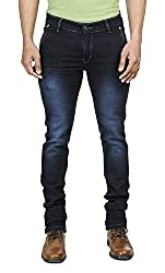 Eprilla Men's Slim Fit Jeans (EPR-502_30, Blue, 30)