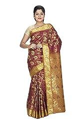 Srinidhi Silks Gold Silk Sari (Ssi sarr 2274)