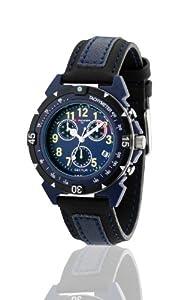 Sector R3271697035 - Reloj para niños de cuarzo, correa de textil color azul claro