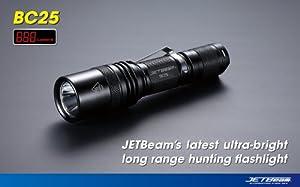 JETBeam BC25 Cree XM-L LED Flashlight - 650 Lumens