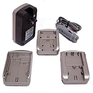 Maximal Power FC300 FUJ Universal All In One Rapid Travel Charger for Fuji Battery (Bronze)