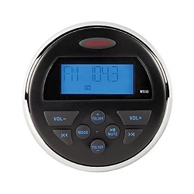 ASA Electronics (MS30RTL) Jensen Waterproof AM/FM/USB Compact Stereo
