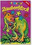 Zauberblock * DINOS * mit 24 Blatt in DIN A8 von Lutz Mauder // 18592 // Malbuch Malen Malblock Zauberblöckchen Kinder Geschenk Dinosaurier hergestellt von Mauder