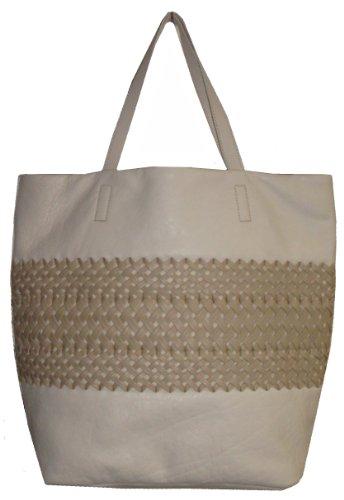 DKNYDKNY Women's Tote Handbag, Ivory/Nude