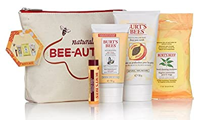 Burt's Bees Naturally Bee-autiful Collection, 4-Piece Gift Set