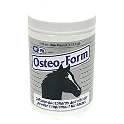 Osteo-Form Calcium, Phosphorus and Vitamin Supplement for Horses - 1 pound