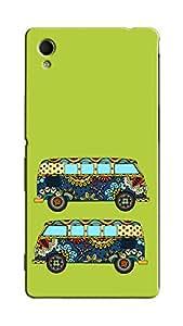 Link+ Designer Back Cover For SONY XPERIA M4 AQUA