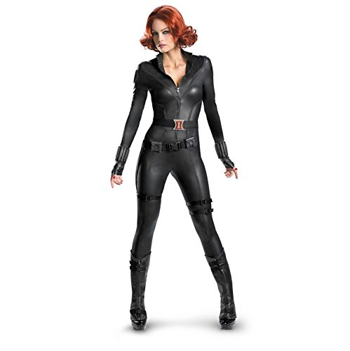 The Avengers Black Widow Theatrical Quality XL Adult Costume