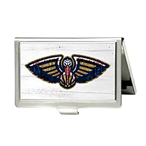 Unique business name card wallet holder stainless steel case with gift