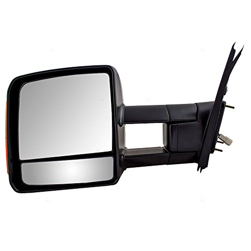 Drivers Power Tow Side View Mirror Heated Signal Manual Telescopic Replacement for Toyota Pickup Truck 879400C221 (Toyota Tow Mirrors compare prices)