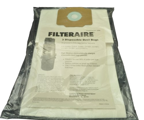Eureka Built In Central Vacuum Cleaner Bags front-153553