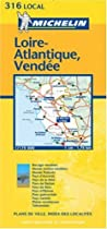 Loire-Atlantique/Vendee (Michelin Local Maps)