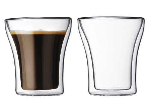Buy Bodum Assam Double-Wall Double Old-Fashioned/Tumbler Glasses, Set of 2