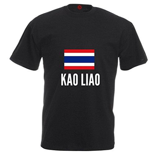T-shirt Kao liao city black
