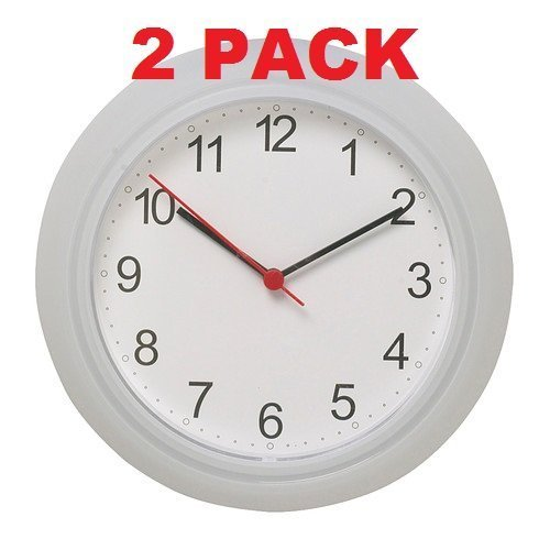 Ikea Wall Clock White (2 Pack) 9.75""