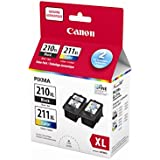 Canon PG-210Xl/Cl-211Xl Ink Value-Pack (2973B019)