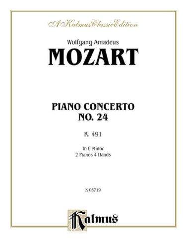 Piano Concerto No. 24 in C Minor, K. 491 (Kalmus Edition)